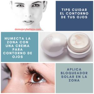 tips para el cuidado del contorno de ojos
