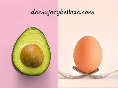 Hidrata tu cabello con aguacate y huevo