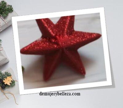 Estrella de navidad manualidades