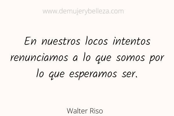 Desapego emocional Walter Riso